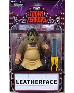 NECA TOONY TERRORS シリーズ2 THE TEXAS CHAINSAW MASSACRE LEATHERFACE 台紙傷み特価
