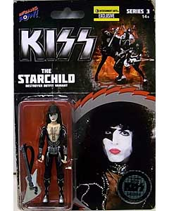 BIF BANG POW! KISS DESTROYER 3.75インチアクションフィギュア STARCHILD IN FIREHOUSE HAT