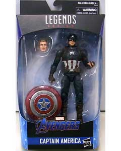 HASBRO MARVEL LEGENDS 2019 WALMART限定 映画版 AVENGERS: ENDGAME CAPTAIN AMERICA パッケージ傷み特価