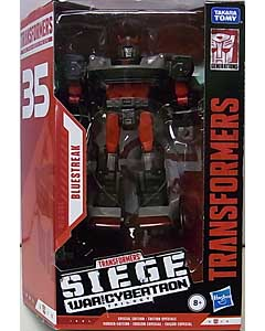HASBRO TRANSFORMERS SIEGE 35TH ANNIVERSARY DELUXE CLASS BLUESTREAK