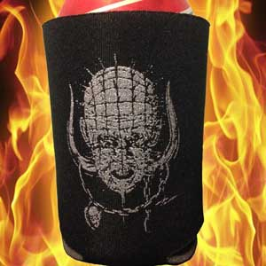 PALLBEARER PRESS KOOZIE BEER DRINKER + HELLRAISER