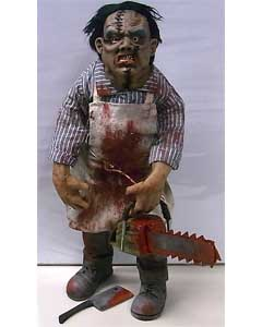 個人ハンドメイド品 MODERN HORROR CUSTOM DOLL LEATHERFACE