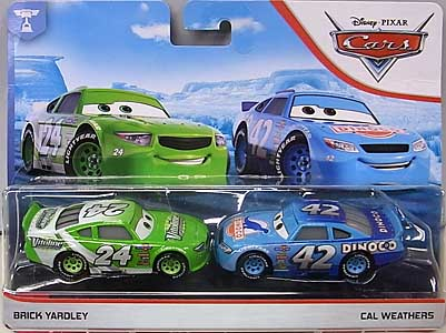 MATTEL CARS 2019 2PACK BRICK YARDLEY & CAL WEATHERS