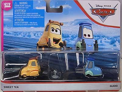 MATTEL CARS 2019 2PACK SWEET TEA & GUIDO