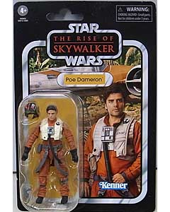 HASBRO STAR WARS 3.75インチアクションフィギュア THE VINTAGE COLLECTION 2019 POE DAMERON [THE RISE OF THE SKYWALKER] VC160 ブリスター傷み特価