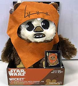 その他・海外メーカー STAR WARS WICKET COLLECTIBLE PLUSH WITH ENAMEL PIN