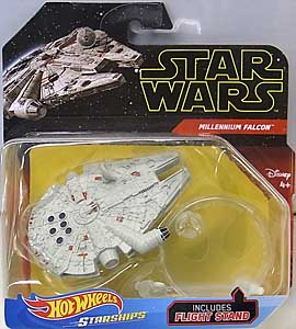 MATTEL HOT WHEELS STAR WARS DIE-CAST VEHICLE 2019 MILLENNIUM FALCON