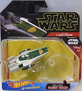 MATTEL HOT WHEELS STAR WARS DIE-CAST VEHICLE 2019 RESISTANCE A-WING FIGHTER