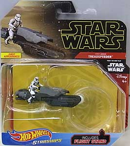 MATTEL HOT WHEELS STAR WARS DIE-CAST VEHICLE 2019 FIRST ORDER TREADSPEEDER