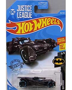 MATTEL HOT WHEELS 1/64スケール 2019 BATMAN JUSTICE LEAGUE BATMOBILE #066 [METALLIC PURPLE]