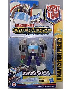 HASBRO アニメ版 TRANSFORMERS CYBERVERSE POWER OF THE SPARK WARRIOR CLASS AUTOBOT DRIFT