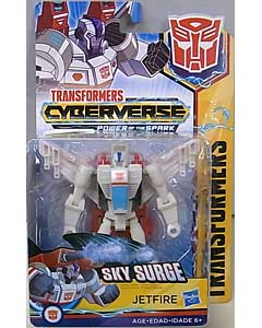 HASBRO アニメ版 TRANSFORMERS CYBERVERSE POWER OF THE SPARK WARRIOR CLASS JETFIRE
