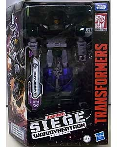HASBRO TRANSFORMERS SIEGE DELUXE CLASS BARRICADE