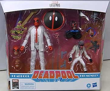 HASBRO MARVEL LEGENDS 2019 80YEARS 2PACK DEADPOLL DEADPOOL & HIT-MONKEY