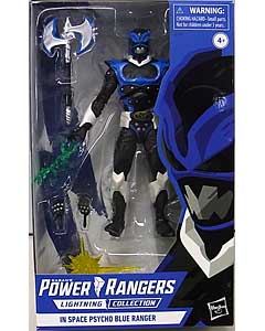HASBRO POWER RANGERS LIGHTNING COLLECTION 6インチアクションフィギュア IN SPACE PSYCHO BLUE RANGER
