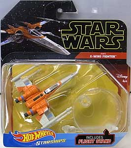 MATTEL HOT WHEELS STAR WARS DIE-CAST VEHICLE 2019 POE'S X-WING FIGHTER 台紙傷み特価