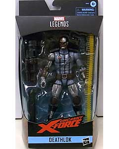 HASBRO MARVEL LEGENDS 2019 UNCANNY X-FORCE DEATHLOK パッケージ傷み特価
