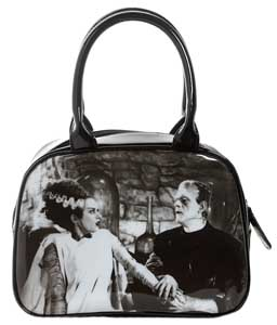 ROCK REBEL BOWLER HANDBAG THE BRIDE OF FRANKENSTEIN