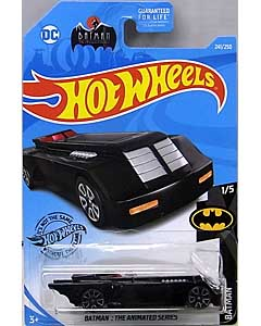 MATTEL HOT WHEELS 1/64スケール 2019 BATMAN THE ANIMATED SERIES BATMOBILE #241 [TREASURE HUNTS]
