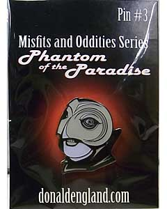DONALD ENGLAND ENAMEL PIN PHANTOM OF THE PARADISE