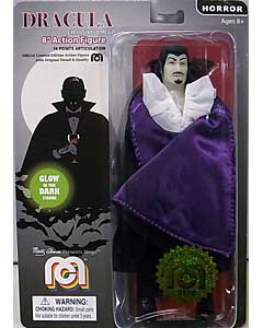 MEGO 8INCH ACTION FIGURE DRACULA [GLOW IN THE DARK WITH PURPLE LINED CAPE] 台紙傷み特価
