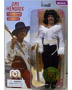 MEGO 8INCH ACTION FIGURE JIMI HENDRIX [1968 MIAMI POP FESTIVAL]
