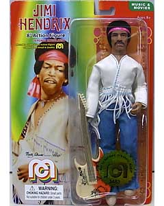 MEGO 8INCH ACTION FIGURE JIMI HENDRIX [1969 WOODSTOCK FESTIVAL] 台紙傷み特価