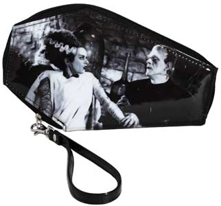 ROCK REBEL WALLET WE BELONG DEAD COFFIN