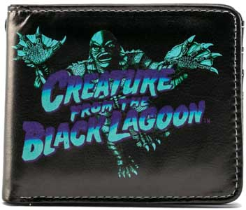 ROCK REBEL BILLFOLD BLUE CREATURE FROM THE BLACK LAGOON