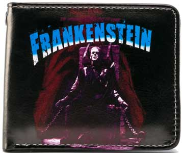 ROCK REBEL BILLFOLD PURPLE FRANKENSTEIN