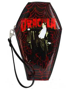 ROCK REBEL WALLET DRACULA WEB COFFIN
