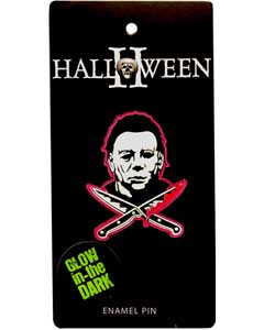 ROCK REBEL ENAMEL PIN MICHAEL MYERS