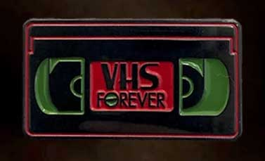 ROTTEN PINS ORIGINAL エナメルピン VHS FOREVER