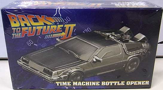 DIAMOND SELECT BACK TO THE FUTURE PART II メタルボトルオープナー TIME MACHINE