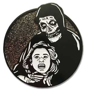 LUNAR CRYPT ENAMEL PIN THE GHOST [GLITTER]