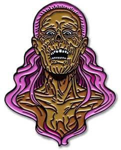 LUNAR CRYPT ENAMEL PIN THE PAIN