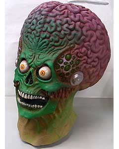 TRICK OR TREAT STUDIOS ラバーマスク MARS ATTACKS SOLDIER MARTIAN [CUSTOM PAINT VERSION]