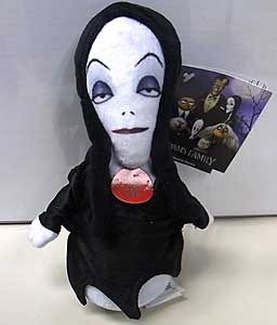 その他・海外メーカー THE ADDAMS FAMILY MINI PLUSH SQUEEZER MORTICIA