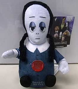 その他・海外メーカー THE ADDAMS FAMILY MINI PLUSH SQUEEZER WEDNESDAY