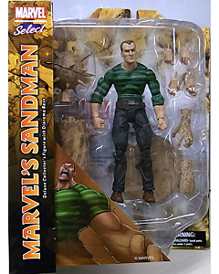 DIAMOND SELECT MARVEL SELECT MARVEL'S SANDMAN パッケージ傷み特価