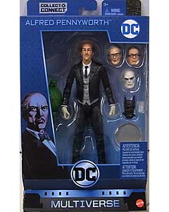 MATTEL DC MULTIVERSE 6インチアクションフィギュア BATMAN 80 YEARS DC REBIRTH ALFRED PENNYWORTH [KILLER CROC SERIES] パッケージ傷み特価