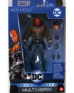 MATTEL DC MULTIVERSE 6インチアクションフィギュア BATMAN 80 YEARS DC REBIRTH RED HOOD [KILLER CROC SERIES]
