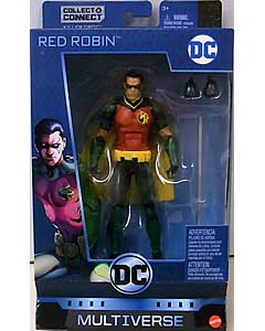 MATTEL DC MULTIVERSE 6インチアクションフィギュア BATMAN 80 YEARS DC REBIRTH RED ROBIN [KILLER CROC SERIES]