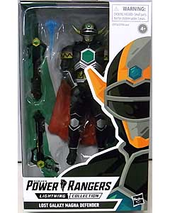 HASBRO POWER RANGERS LIGHTNING COLLECTION 6インチアクションフィギュア LOST GALAXY MAGNA DEFENDER