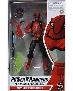 HASBRO POWER RANGERS LIGHTNING COLLECTION 6インチアクションフィギュア BEAST MORPHERS RED RANGER
