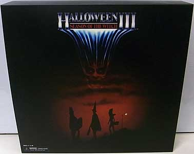 NECA HALLOWEEN III: SEASON OF THE WITCH 6インチドール SILVER SHAMROCK 3PACK