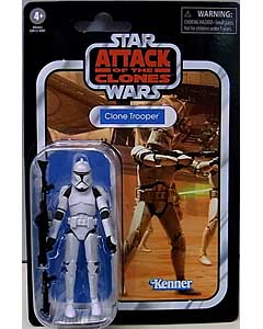 HASBRO STAR WARS 3.75インチアクションフィギュア THE VINTAGE COLLECTION 2020 CLONE TROOPER [ATTACK OF THE CLONES] VC45