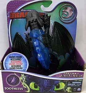SPIN MASTER HOW TO TRAIN YOUR DRAGON LEGENDS EVOLVED ACTION FIGURE TOOTHLESS