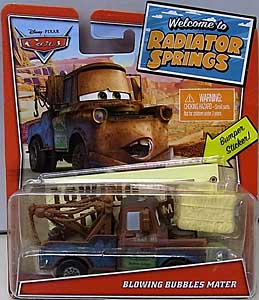 MATTEL CARS 2020 WELCOME TO RADIATOR SPRINGS シングル BLOWING BUBBLES MATER