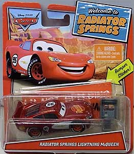 MATTEL CARS 2020 WELCOME TO RADIATOR SPRINGS シングル RADIATOR SPRINGS LIGHTNING McQUEEN  台紙傷み特価
